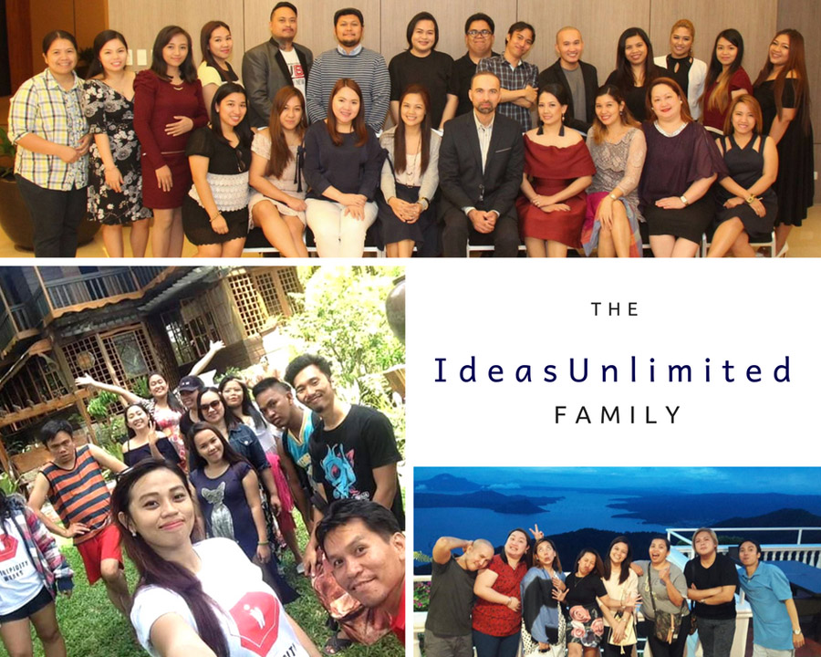 The IdeasUnlimited Family - we value our workers!