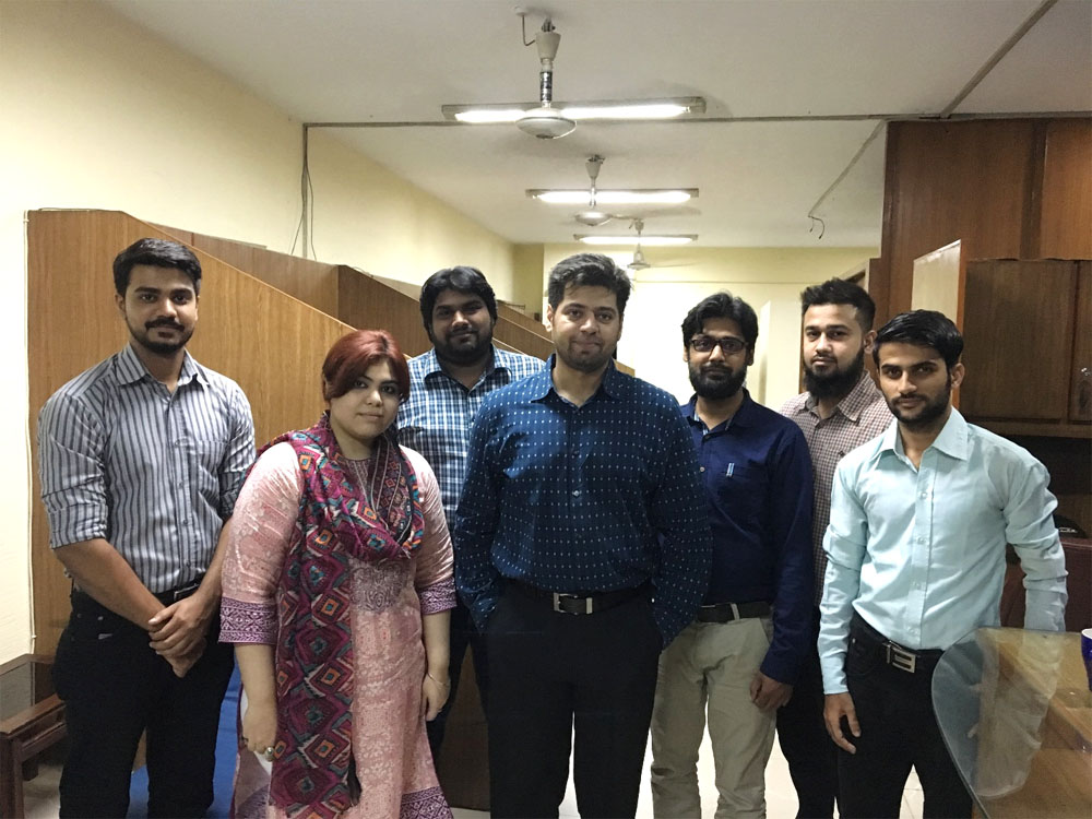 We are licensed to open a call center in Karachi, Pakistan