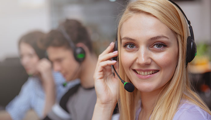 IdeasUnlimited's Physical Call Center Support